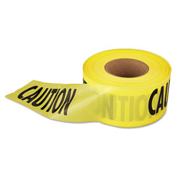 Empire  inCaution in Barricade Tape, 3 in x 1,000 ft., Yellow/Black