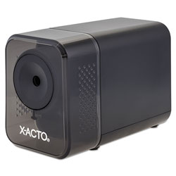 X-Acto XLR Office Electric Pencil Sharpener, AC-Powered, 3 in x 5.5 in x 4 in, Charcoal Black