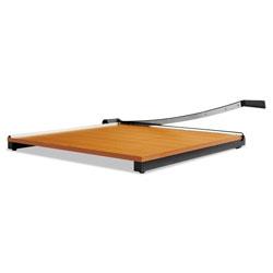Elmer's Square Commercial Grade Wood Base Guillotine Trimmer, 20 Sheets, 30 in x 30 in