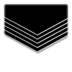"Elmer's Sturdy Foam Board, 20""x30"", Black on White"