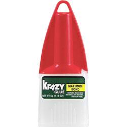 Elmer's Maximum Bond Krazy Glue, 0.18 oz. Extra Strong, Durable, Precision Tip