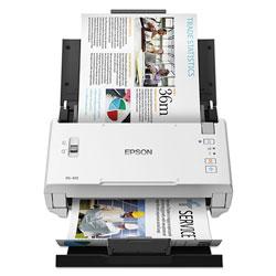 Epson DS-410 Document Scanner, 600 dpi Optical Resolution, 50-Sheet Duplex Auto Document Feeder