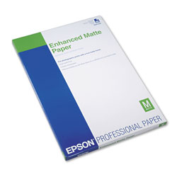 Epson Ultra Premium Matte Presentation Paper, 10 mil, 13 x 19, Matte White, 50/Pack