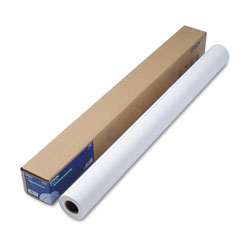 Epson Double Weight Matte Paper, 8 mil, 44 in x 82 ft, Matte White