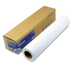 Epson Enhanced Photo Paper Roll, 24 in x 100 ft, Enhanced Matte White