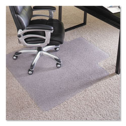 E.S. Robbins Performance Series AnchorBar Chair Mat for Carpet up to 1 in, 45 x 53, Clear