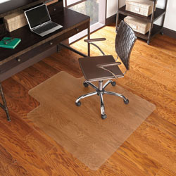 E.S. Robbins EverLife Chair Mat for Hard Floors, 36 x 48, Clear