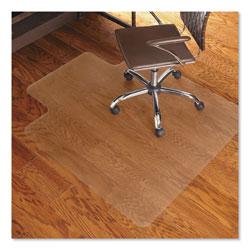 E.S. Robbins Economy Series Chair Mat for Hard Floors, 45 x 53, Clear