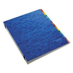 Pendaflex Expanding Desk File, A-Z, Letter, Acrylic-Coated Pressboard, Blue