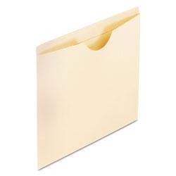 Pendaflex Manila Reinforced File Jackets, 2-Ply Straight Tab, Letter Size, Manila, 100/Box