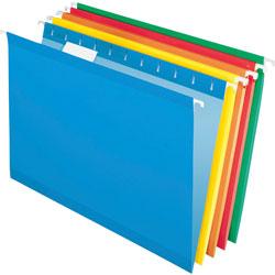 TOPS Reinforced Hanging File Folder, Kraft, Legal, Brites, 25/Box
