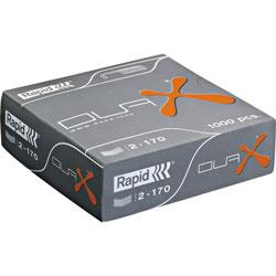 Rapid Dual Staples, Heavy-Duty , Chisel Point, 1000/BX