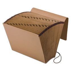 Pendaflex Kraft Indexed Expanding File, 31 Sections, 1/31-Cut Tab, Letter Size, Brown