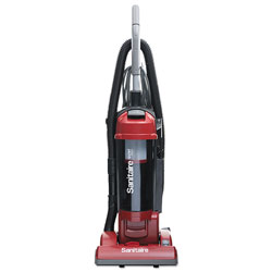 Electrolux FORCE Upright Vacuum with Dust Cup, Sealed HEPA, 17 lb, 3.5 qt, Red