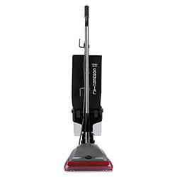 Electrolux TRADITION Upright Vacuum with Dust Cup, 5 amp, 14 lb, Gray/Red