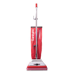 Electrolux TRADITION Upright Vacuum with Shake-Out Bag, 17.5 lb, Red