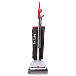 Electrolux TRADITION QuietClean Upright Vacuum, 18 lb, Gray/Red/Black