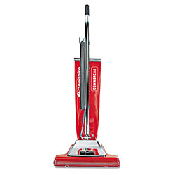 Electrolux TRADITION Bagless Upright Vacuum, 16 in Wide Path, 18.5 lb, Red