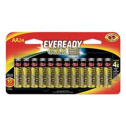 Energizer Gold AA Batteries, 1.5V, 24/Pack