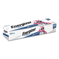 Energizer Ultimate Lithium AA Batteries, 1.5V, 24/Box
