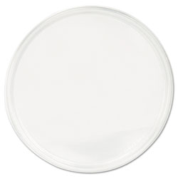 Fabri-Kal PolyPro Microwavable Deli Container Lids, Clear, 500/Carton