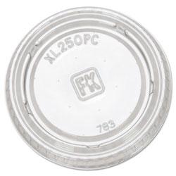 Fabri-Kal Portion Cup Lids, Fits 1.5-2.5oz Cups, Clear