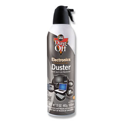 Falcon Safety Disposable Compressed Air Duster, 17 oz Can