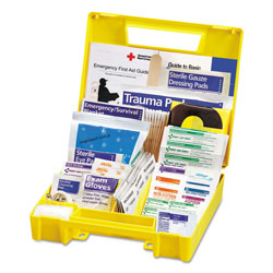 First Aid Only Essentials First Aid Kit for 5 People, 138 Pieces/Kit