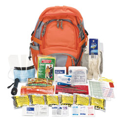 Physicians Care Emergency Preparedness First Aid Backpack, 63 Pieces/Kit