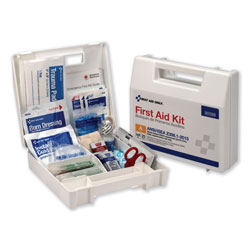 First Aid Only ANSI 2015 Compliant Class A Type I & II First Aid Kit for 25 People, 89 Pieces
