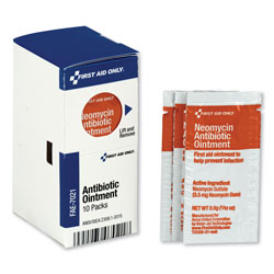 First Aid Only SmartCompliance Antibiotic Ointment, 10 Packets/Box