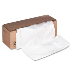 Fellowes Shredder Waste Bags, 32-38 gal Capacity, 50/Carton