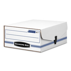 Fellowes LIBERTY BINDER-PAK, Letter Files, 9.13 in x 11.38 in x 4.38 in, White/Blue