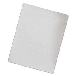 Fellowes Classic Grain Texture Binding System Covers, 11-1/4 x 8-3/4, White, 200/Pack