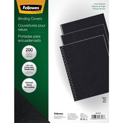 Fellowes 200PK BINDING COVERS EXPRESSION