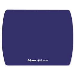 Fellowes Microban Ultra Thin Mouse Pad, Sapphire Blue