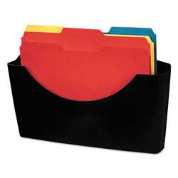 Fellowes Plastic Partition Additions File Pocket, Letter, Dark Graphite