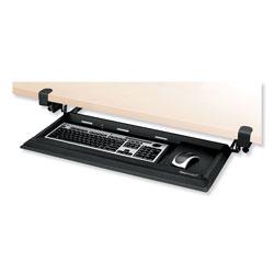 Fellowes Designer Suites DeskReady Keyboard Drawer, 19.19w x 9.81d, Black Pearl