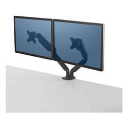 Fellowes Platinum Series Dual Monitor Arm, 33.5w x 6d x 24.5h, Black