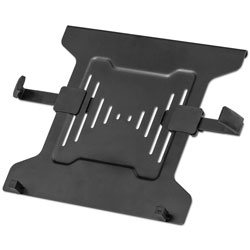 Fellowes Laptop Arm Accessory, Laptops up to 15 lbs, Attaches to VESA Plate, Black