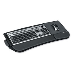 Fellowes Tilt 'n Slide Keyboard Manager, 19.5w x 11.88d, Black