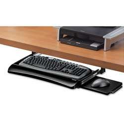 Fellowes Office Suites Underdesk Keyboard Drawer, 20.13w x 7.75d, Black
