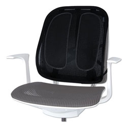 Fellowes Office Suites Mesh Back Support, 17.3w x 5.56d x 20.18h, Black