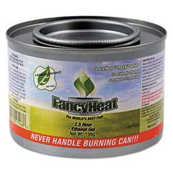 Fancy Heat Ethanol Gel Chafing Fuel, 8 oz, Can, 2 1/2 Hour Burn