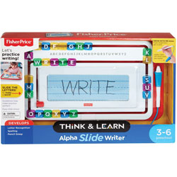 Fisher-Price Educational Writing Toy, 1-1/5 inWx14 inLx9 inH