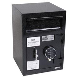 Fireking Depository Security Safe, 0.95 cu ft, 14 x 15.5 x 20, Black