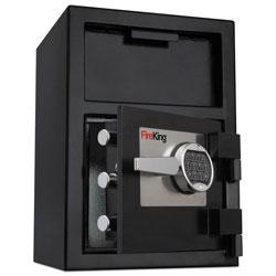 Fireking Depository Security Safe, 2.72 cu ft, 24w x 13.4d x 10.83h, Black