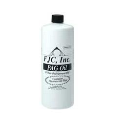 FJC PAG Oil w/Fluorescent Leak Detection Dye, Quart