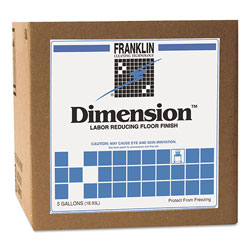Franklin Cleaning Technology Dimension Labor Reducing Floor Finish, 5gal Cube