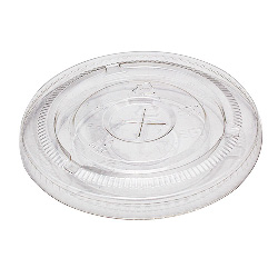 Chesapeake Flat Lid For 12-24 Oz Pet Cups, 20 Sleeves of 50 Lids